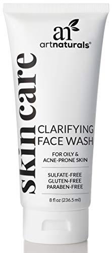 ArtNaturals Clarifying Acne Face Wash Tiefenreinigung und Peeling von Akne, Mitessern und Pickeln mit Gurken und Aloe für zusätzliche Feuchtigkeit, 8 oz.