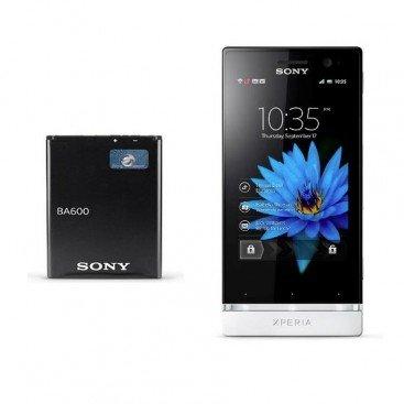 Batería: BA600 para Sony Xperia U/St25/St25i, Xperia P Lt22 y Lt26 y Xperia S