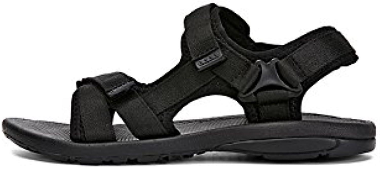 Sneaker XUEQIN Sommer HerrenschuheSandal  Casual Lederschuh Perfekt für den Strand OutdoorReisen (Farbe : Dunkelbraun