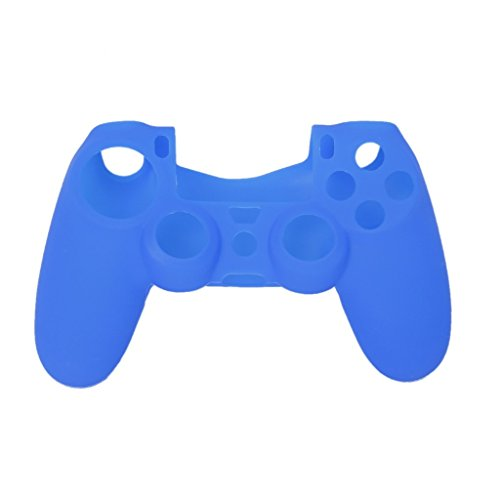 Imported Silicone Protective Skin Case Cover for Sony PlayStation 4 PS4 Controller - Blue  available at amazon for Rs.160