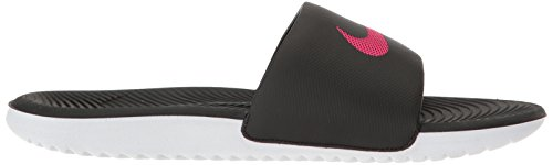 Nike Air Moc Tech Fleece, Chaussures de Sport Homme Black/Vivid Pink