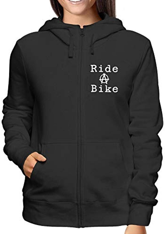 T-Shirtshock Felpa Cappuccio FUN2918 e Zip Donna Nero FUN2918 Cappuccio  Ride a Bike ac37b7 ce7a1a7b0ddd