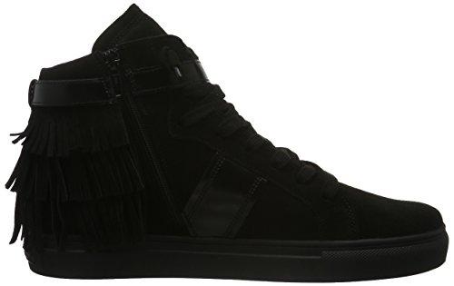 Kennel und Schmenger Schuhmanufaktur Damen Basket High-Top Schwarz (schwarz Sohle schwarz 650)