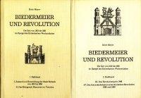 Biedermeier und Revolution. Die Zeit von 1813 bis 1850 im Spiegel des Einbeckschen Wochenblattes. 1....