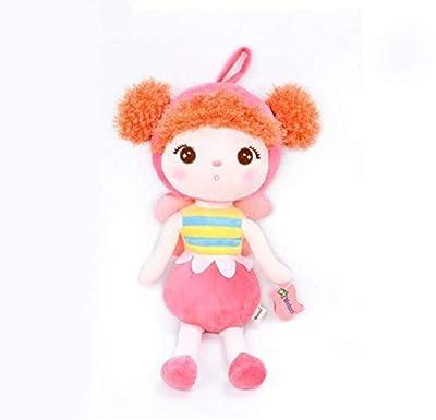 WYBL Muñeca Mini Felpa Dulce Lindo Relleno Mochila Colgante Bebé Niños Juguetes para Niñas Cumpleaños Sombrero De Oso por WYBL