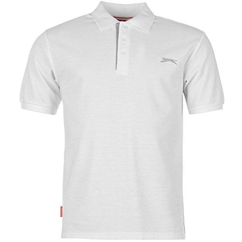Erwachsenen-polo-shirt (Slazenger Poloshirt Weiss XXL)