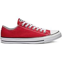 Converse Chuck Tailor All Star Zapatillas de lona, Unisex, Rojo, 40 EU