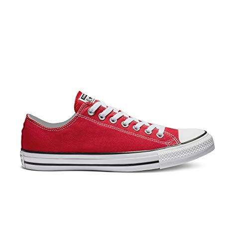 Converse Unisex-Erwachsene Chuck Taylor All Star-Ox Low-Top Sneakers, Rot (Rot/Rot), 46.5 EU -