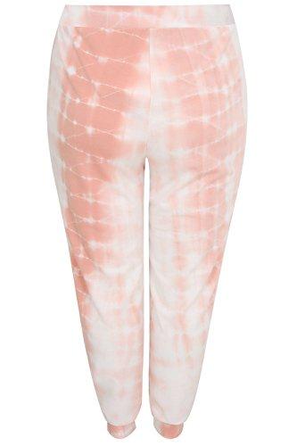 Yours Clothing - Pantalon de sport - Relaxed - Femme blanc blanc Blanc