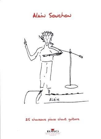 Partition Alain Souchons 25 chansons - p...