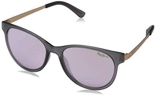 Pepe Jeans Damen Catalina Sonnenbrille, Grau (Grey/Purple), 54.0