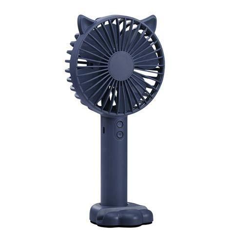 Royal Blue Fan (TCFUSBFES USB Kleiner Ventilator Kleiner wiederaufladbarer studentenwohnheim tragbarer tragbarer Handheld Mini Fan stumm Karte belüftung (Color : Royal Blue))