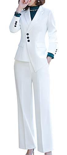 Women's Two Pieces Office Lady Blazer Set Formal Business Pant Suit Blazer Jacket,Pant/Skirt -