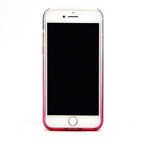 Sunroyal iPhone 7 Bling Diamant Kristall Crystal Hülle Transparent Durchsichtig Bumper Rahmen TPU Weich Bling Case / Hülle / Tasche Etui Schutzhülle für iPhone 7 (4.7 Zoll) Strass Handytasche Sparklin Pattern 20