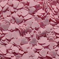 Rosa Zucker Herz Streusel 30g Für Küchen Oder Törtchen Dekoration