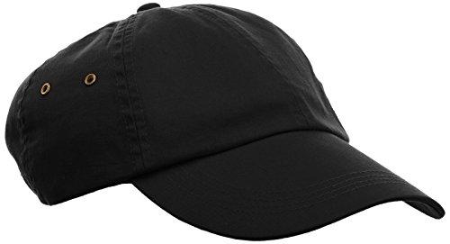 anvil Herren Low Profile Twill Cap 6 Panel / 156, Gr. one size, Schwarz (BLA-Black) 6-panel-twill Cap