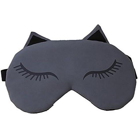 powerlead Pmsk K001sonno maschera occhio morbido paralumi di profondo Relax e migliora la qualità del sonno