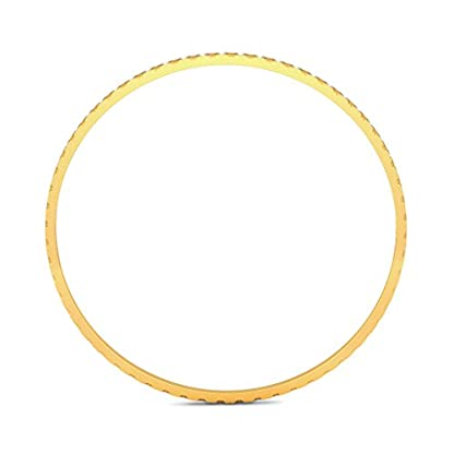 BlueStone 18k (750) Yellow Gold Drina Bangle