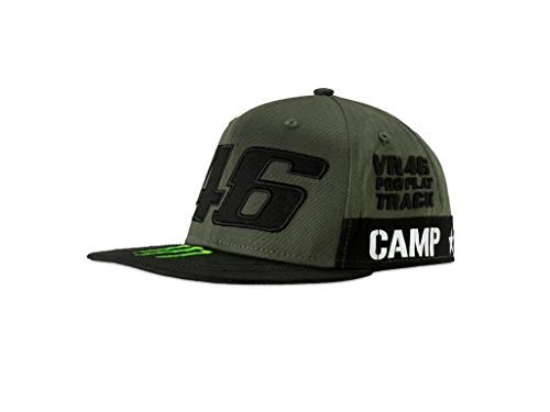VR46 Cap Monster Camp 46 Valentino Rossi Snapback Motor Ranch Official Racing