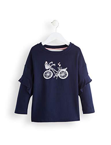 RED WAGON Girl's Bicycle Sweatshirt, Azul Multicolour, 104