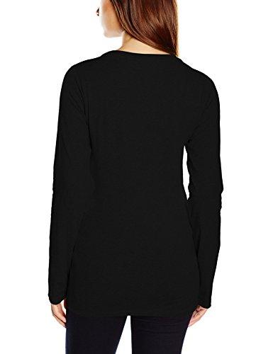 Tommy Hilfiger - T-shirt à manches longues - Femme Noir - Noir (990)