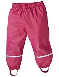 Niños barro y chaqueta embotellado rosa