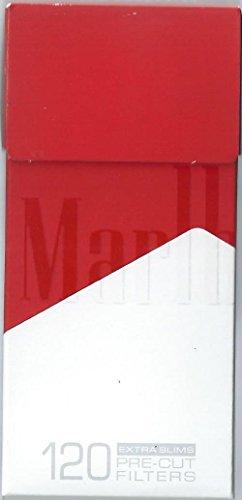 Preisvergleich Produktbild 10 Packungen x 120 Marlboro Pocket Filter Tipps Extra Slim 5.68 mm vorgeschnittenen