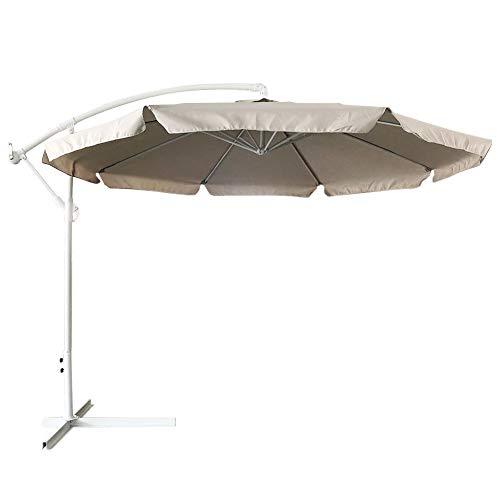 Zoom IMG-2 bakaji ombrellone da giardino decentrato