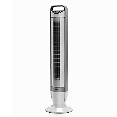 Seville Ultra Slimline Tilt Tower Fan, EHF10202UK