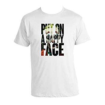 Joker 2019 T-shirt 100% Baum 2020 Batman T-shirt Put On A Happy Face T-shirt