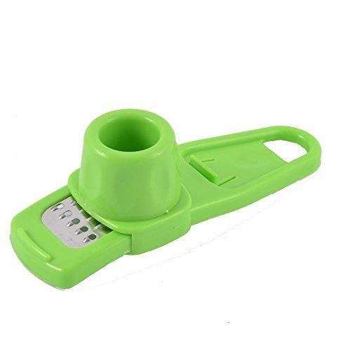 Preisvergleich Produktbild DealMux Plastikhandgriff aus Metall Küchenknoblauchpresse Hand Presser Slicer