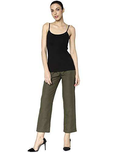 Black Lace Unterhemd Top (Jacqueline de Yong NOS Damen JDYAVA Singlet LACE JRS NOOS Top Schwarz Black, 34 (Herstellergröße: XS))
