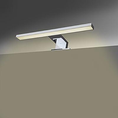 LED Spiegelleuchte I Badleuchte I Schminklicht I Badezimmer I Schrank-Beleuchtung I neutral-weiß I 230 V I IP44 I Produktlänge: 300 mm von B.K.Licht