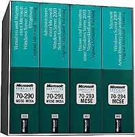Microsoft Windows Server 2003 MCSE CorePack für Examen 70-290, 70-291, 70-293 und 70-294