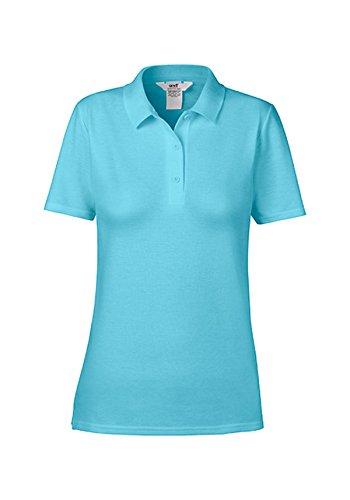 Polo Pique Donna Polo Camicia Pool Blue