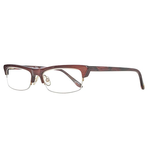 Tom Ford Damen Brille FT5133 050 Brillengestelle, Burgundy, 52