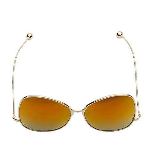 YRE Kids Sonnenbrillen Baby Resin Shing, Coole Baby Sonnenbrille Sonnenbrille, Kinder aus, um zu dekorieren, 2-8 Jahre alt,B