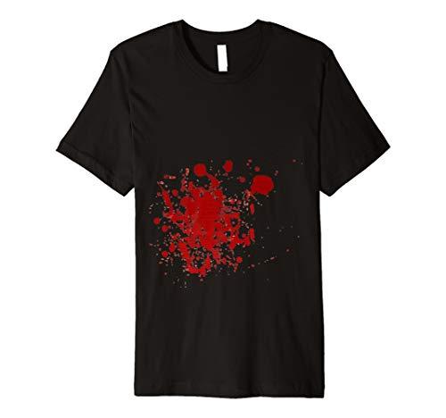 Halloween Blut T Shirt | Gruselig Blutiges TShirt ()