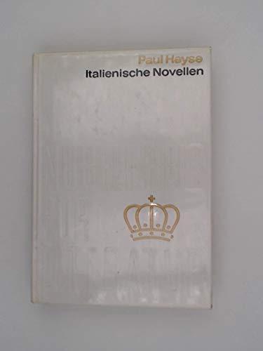 Italienische Novellen - Nobelpreis für Literatur 1910