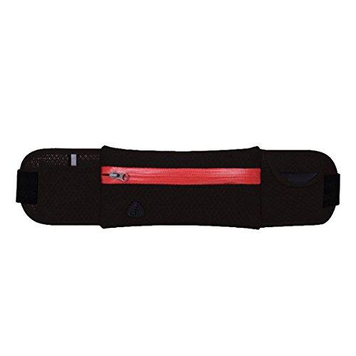 Outdoor Sport Fitness Multifunktions Arm Tasche Geldbörse Mehrfarbig Black