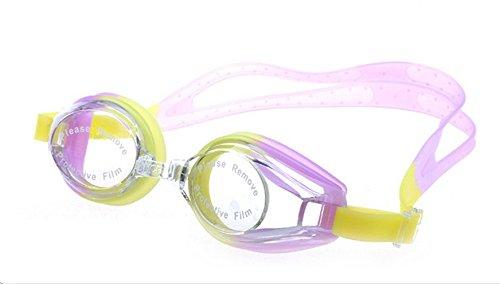 Da.Wa Swimming Goggles Anti Fog Wasserdichte UV Schutz Silikon Schwimmbrille für Erwachsene Damen...