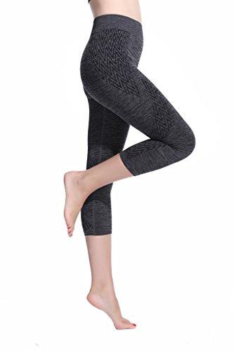 Lotus Instyle femmes capris Sport Leggings Yoga Sweatpants gray