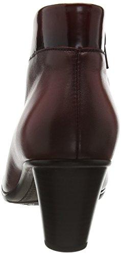 Gabor Enfield, Bottes Classiques Femme Rouge (Chianti Effekt)