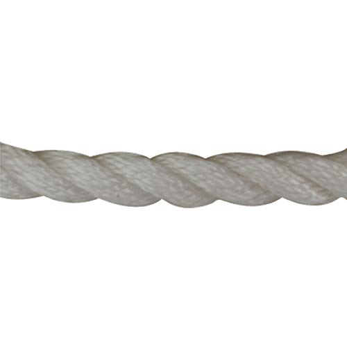 Sea Hund 301110100wh-1Twisted Nylon Anchor Line mit Kausche, 3/20,3cm X 100' -