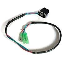 YAMASCO 37850-90J00 Trim e Tilt Switch para Suzuki Motor Fuera de borda Caja de Control Remoto