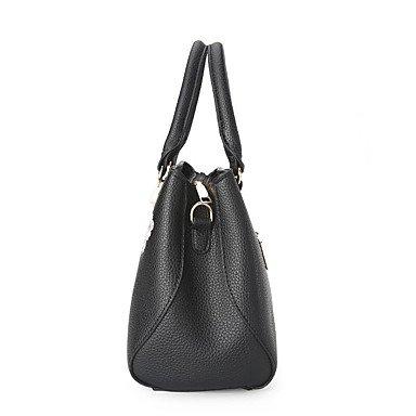 Frauen Handtasche Mode Soid Schulter Messenger Crossbody Taschen / Handtaschen Tote Wine