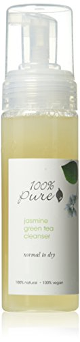 100% Pure - Nettoyant Visage au Thé Vert - Jasmine Green Tea - 170g