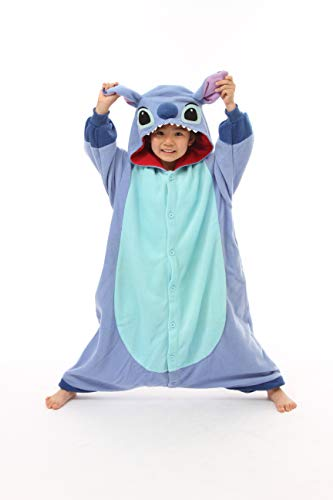 Kind Stiche Kostüm - Disney Pyjama Kigurumi - Stitch
