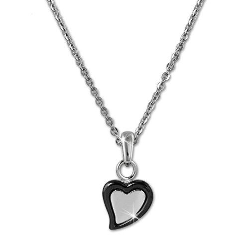 amello-collier-ceramique-coeur-noir-femme-acier-inoxydable-bijoux-eskx33s5