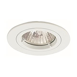 Ansell Lighting Twistlock MR16 / GU10 50W IP65 Downlight 50W MR16 or GU10 White